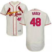 Wholesale Cheap Cardinals #48 Harrison Bader Cream Flexbase Authentic Collection Stitched MLB Jersey