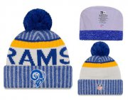 Wholesale Cheap NFL Los Angeles Rams Logo Stitched Knit Beanies 001