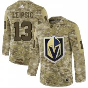 Wholesale Cheap Adidas Golden Knights #13 Brendan Leipsic Camo Authentic Stitched NHL Jersey