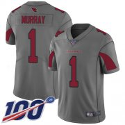 Wholesale Cheap Nike Cardinals #1 Kyler Murray Silver Men's Stitched NFL Limited Inverted Legend 100th Season Jersey