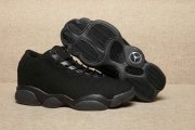 Wholesale Cheap Women's Air Jordan 13 Low Shoes All Black