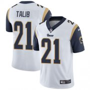 Wholesale Cheap Nike Rams #21 Aqib Talib White Youth Stitched NFL Vapor Untouchable Limited Jersey