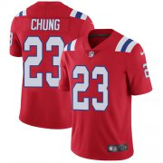 Wholesale Cheap Nike Patriots #23 Patrick Chung Red Alternate Men's Stitched NFL Vapor Untouchable Limited Jersey