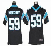 Wholesale Cheap Nike Panthers #59 Luke Kuechly Black Team Color Youth Stitched NFL Elite Jersey