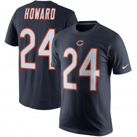 Wholesale Cheap Chicago Bears #24 Jordan Howard Nike Player Pride Name & Number T-Shirt Navy