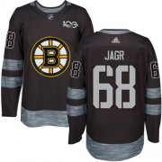 Wholesale Cheap Adidas Bruins #68 Jaromir Jagr Black 1917-2017 100th Anniversary Stitched NHL Jersey