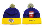 Wholesale Cheap Los Angeles Lakers Beanies YD008
