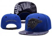 Wholesale Cheap NBA Oklahoma City Thunder Snapback Ajustable Cap Hat XDF 022