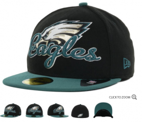 Wholesale Cheap Philadelphia Eagles fitted hats 05