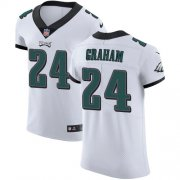 Wholesale Cheap Nike Eagles #24 Corey Graham White Men's Stitched NFL Vapor Untouchable Elite Jersey