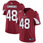 Wholesale Cheap Nike Cardinals #48 Isaiah Simmons Red Team Color Men's Stitched NFL Vapor Untouchable Limited Jersey