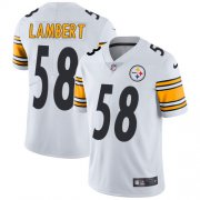 Wholesale Cheap Nike Steelers #58 Jack Lambert White Men's Stitched NFL Vapor Untouchable Limited Jersey