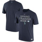 Wholesale Cheap Seattle Mariners Nike Authentic Collection Legend Team Issue Performance T-Shirt Navy