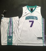 Wholesale Cheap Hornets #7 Jeremy Lin White A Set Stitched NBA Jersey