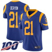 Wholesale Cheap Nike Rams #21 Donte Deayon Royal Blue Alternate Youth Stitched NFL 100th Season Vapor Untouchable Limited Jersey