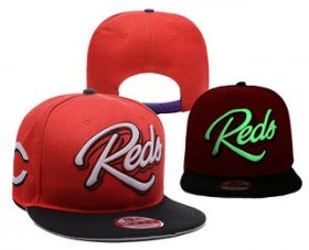 Wholesale Cheap MLB Cincinnati Reds Snapback Ajustable Cap Hat YD 4