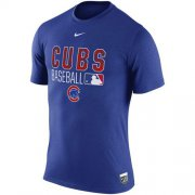 Wholesale Cheap Chicago Cubs Nike 2016 AC Legend Team Issue 1.6 T-Shirt Royal