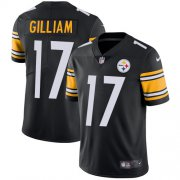 Wholesale Cheap Nike Steelers #17 Joe Gilliam Black Team Color Men's Stitched NFL Vapor Untouchable Limited Jersey
