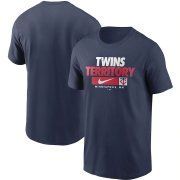 Wholesale Cheap Minnesota Twins Nike Local Nickname T-Shirt Navy