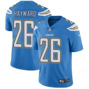 Wholesale Cheap Nike Chargers #26 Casey Hayward Electric Blue Alternate Men's Stitched NFL Vapor Untouchable Limited Jersey