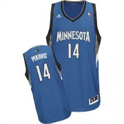 Wholesale Cheap Minnesota Timberwolves #14 Nikola Pekovic Blue Swingman Jersey