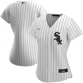 Wholesale Cheap Chicago White Sox Nike Women\'s Home 2020 MLB Team Jersey White