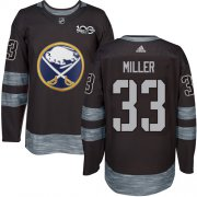 Wholesale Cheap Adidas Sabres #33 Colin Miller Black 1917-2017 100th Anniversary Stitched NHL Jersey