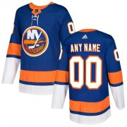 Wholesale Cheap Men's Adidas Islanders Personalized Authentic Royal Blue Home NHL Jersey