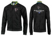 Wholesale Cheap NFL Atlanta Falcons Victory Jacket Black