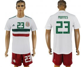 Wholesale Cheap Mexico #23 Montes Away Soccer Country Jersey