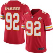 Wholesale Cheap Nike Chiefs #92 Tanoh Kpassagnon Red Team Color Men's Stitched NFL Vapor Untouchable Limited Jersey