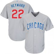 Wholesale Cheap Cubs #22 Jason Heyward Grey Road Stitched Youth MLB Jersey