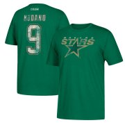 Wholesale Cheap Dallas Stars #9 Mike Modano CCM Retired Player Name & Number T-Shirt Green