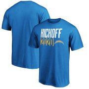 Wholesale Cheap Los Angeles Chargers Fanatics Branded Kickoff 2020 T-Shirt Powder Blue