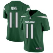 Wholesale Cheap Nike Jets #11 Denzel Mim Green Team Color Youth Stitched NFL Vapor Untouchable Limited Jersey