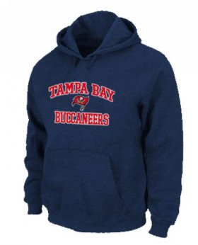 Wholesale Cheap Tampa Bay Buccaneers Heart & Soul Pullover Hoodie Dark Blue