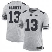 Wholesale Cheap Ohio State Buckeyes 13 Maurice Clarett Gray College Football Jersey