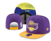 Wholesale Cheap Los Angeles Lakers Snapback Ajustable Cap Hat YD 11