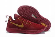 Wholesale Cheap Nike Lebron James Witness 3 Shoes Wine Red