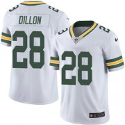 Wholesale Cheap Nike Packers #28 AJ Dillon White Youth Stitched NFL Vapor Untouchable Limited Jersey