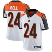 Wholesale Cheap Nike Bengals #24 Vonn Bell White Youth Stitched NFL Vapor Untouchable Limited Jersey