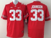 Wholesale Cheap Ohio State Buckeyes #33 Pete Johnson 2014 Red Limited Jersey