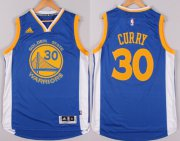 Wholesale Cheap Golden State Warriors #30 Stephen Curry Revolution 30 Swingman 2014 New Blue Jersey