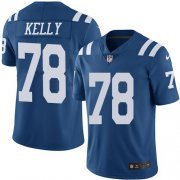 Wholesale Cheap Nike Colts #78 Ryan Kelly Royal Blue Youth Stitched NFL Limited Rush Jersey