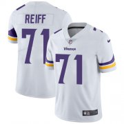 Wholesale Cheap Nike Vikings #71 Riley Reiff White Men's Stitched NFL Vapor Untouchable Limited Jersey