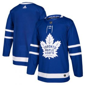 Wholesale Cheap Adidas Maple Leafs Blank Blue Home Authentic Stitched NHL Jersey