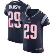 Wholesale Cheap Nike Patriots #29 Duke Dawson Navy Blue Team Color Men's Stitched NFL Vapor Untouchable Elite Jersey