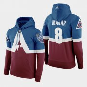 Wholesale Cheap Adidas Colorado Avalanche #8 Cale Makar Men's Burgundy 2020 Stadium Series Hoodie