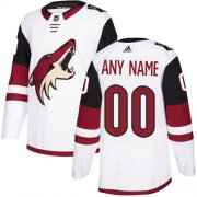 Wholesale Cheap Men's Adidas Coyotes Personalized Authentic White Road NHL Jersey