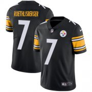 Wholesale Cheap Nike Steelers #7 Ben Roethlisberger Black Team Color Youth Stitched NFL Vapor Untouchable Limited Jersey